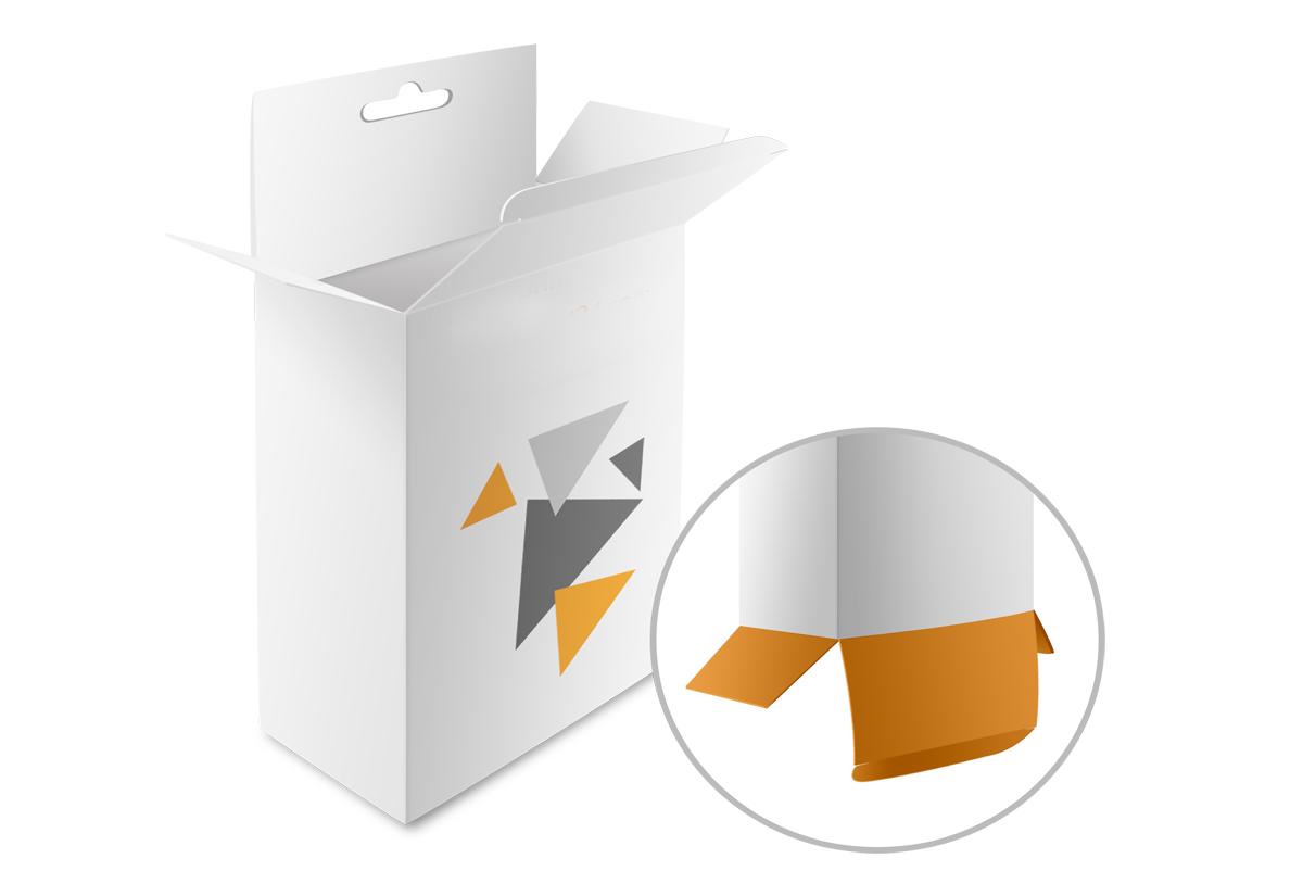 Box With Locking Tabs