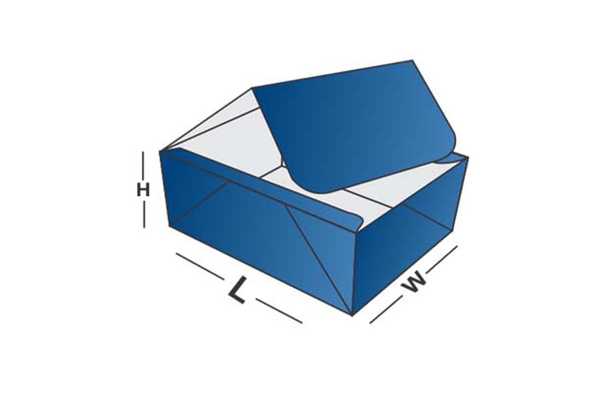 Four Corner Lid Box