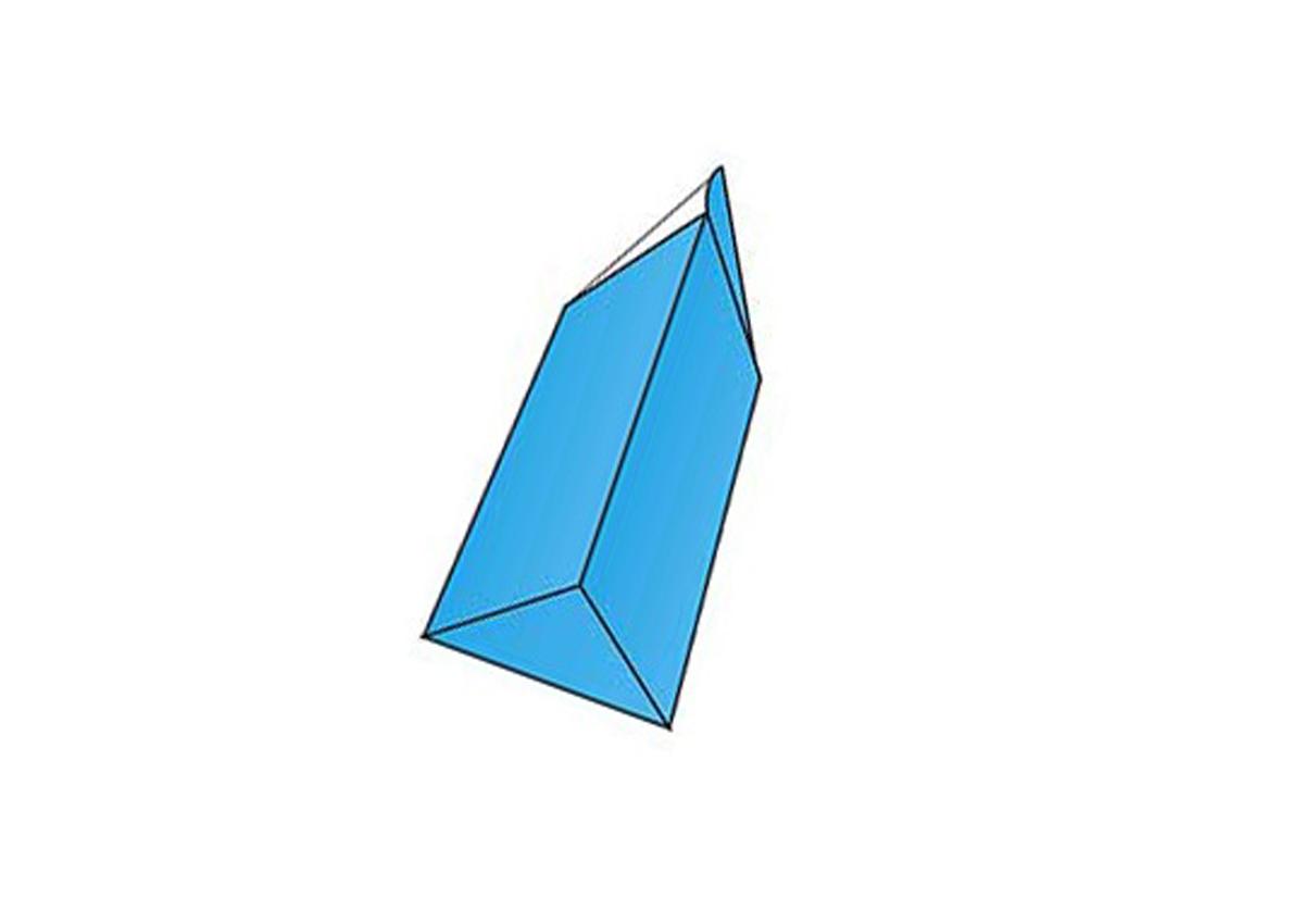 Prism Shaped Box