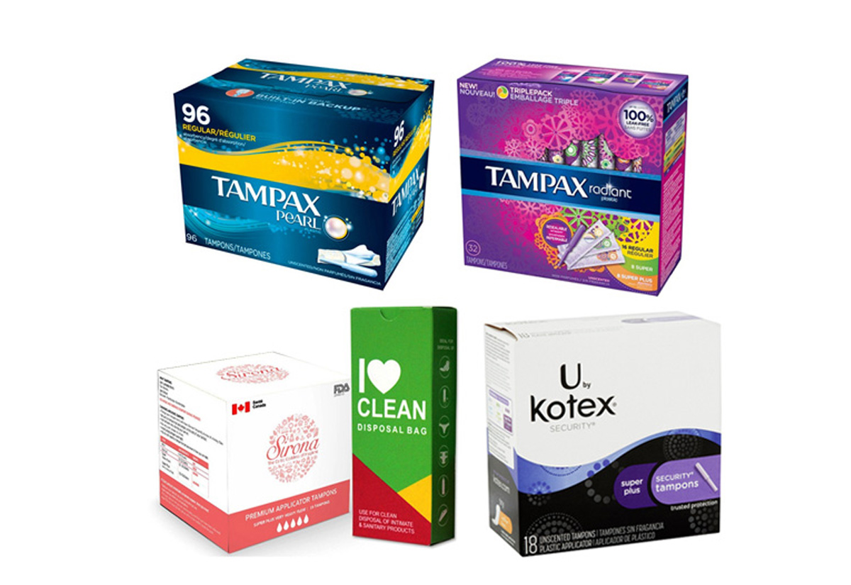 Tamp On Boxes