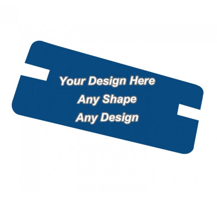 Matt Laminated - Backing Card Printing