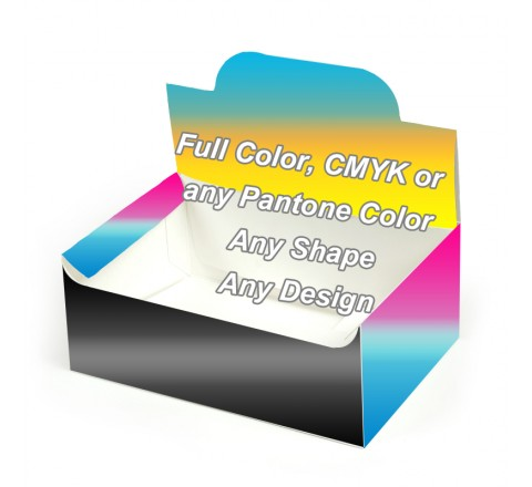 Full Color - Pop up Display Boxes