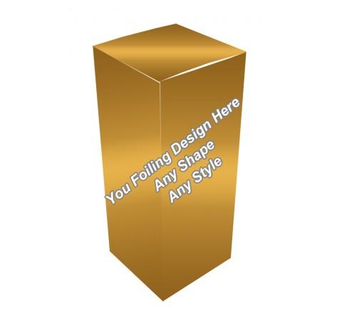 Golden Foiling - Eye Drops Packaging