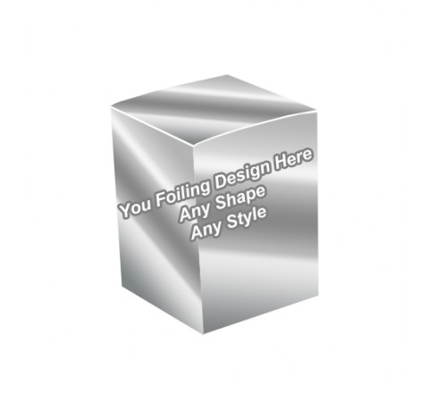 Silver Foiling - Essential Oil Packaging